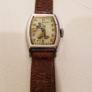 1947 Vintage Mickey Mouse Character Watch